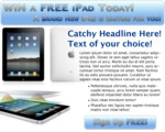 Free iPad Landing Page Sample