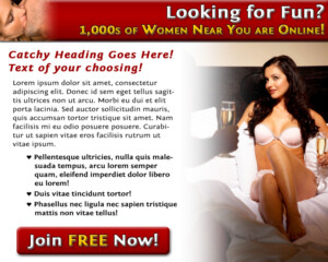 Dating Site Landing Page Sample