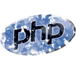 Distressed PHP Logo