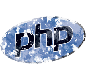 Distressed PHP Logo