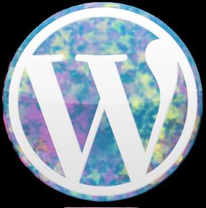 Colorful WordPress Logo